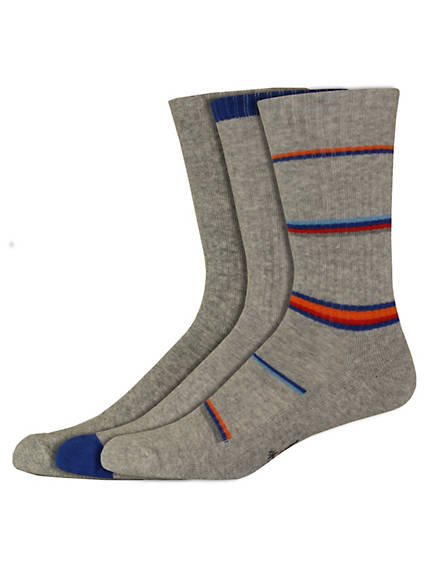 Pattern Sport Crew Socks