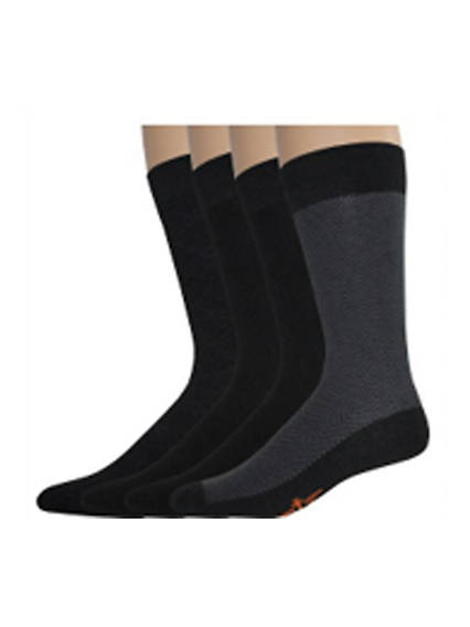 Herringbone Crew Socks