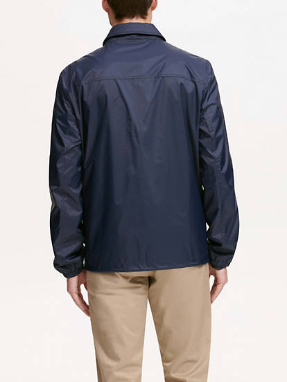 023dc6480 Water Resistant Coaches Jacket - Blue Dm9rn9150 | Dockers® US