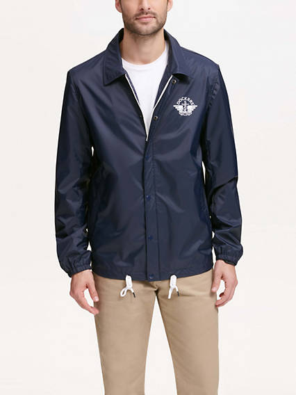 Men's Water Resistant Coaches Jacket