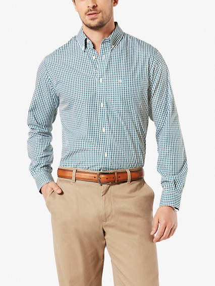 No Wrinkle Shirt, Classic Fit