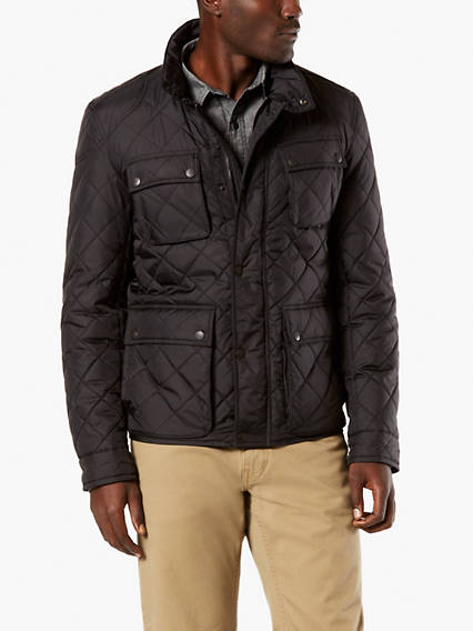 Premium 4 Pocket Quilted Nylon Jacket