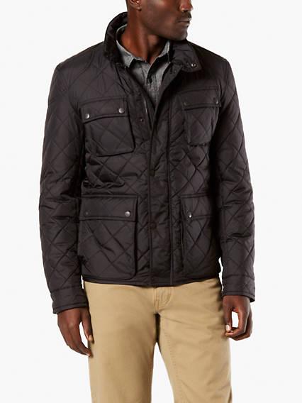 Premium 4 Pocket Quilted Nylon Jacket