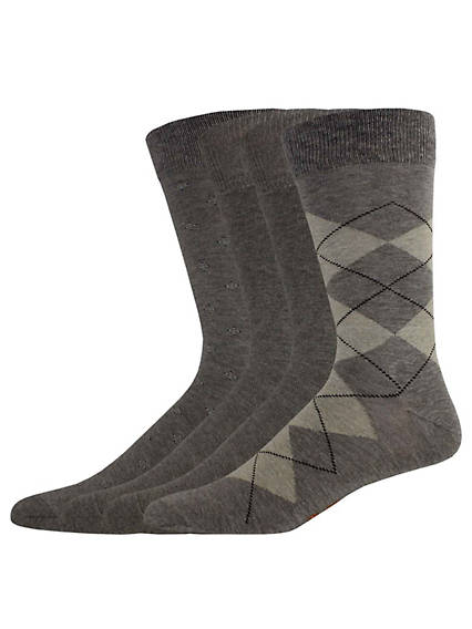 Argyle Crew Dress Sock
