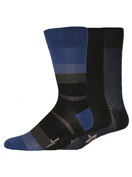 Birds Eye Stripes Crew Socks