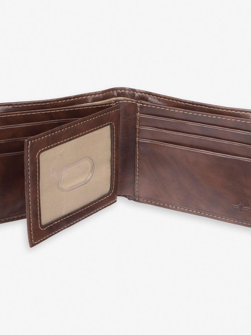 Slimfold Wallet - Brown W10000002   Dockers® US