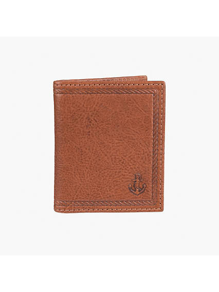 Leather Duofold Wallet
