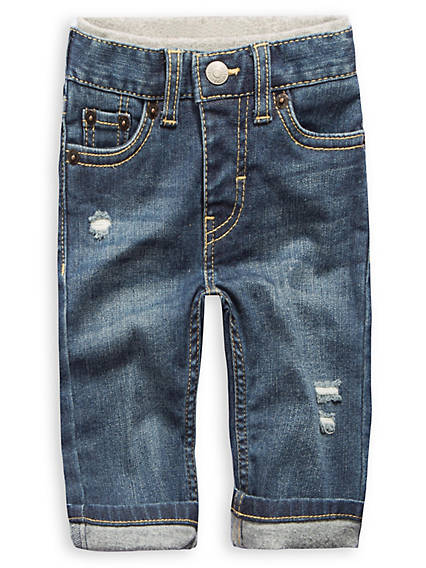 Baby 12-24M Murphy Pull-On Straight Fit Jeans