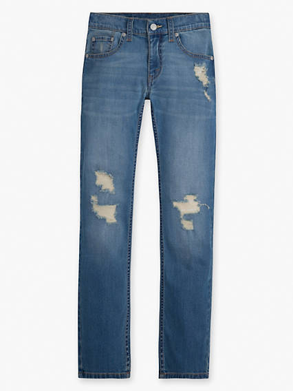 Boys 8-20 511 Slim Destructed Jeans