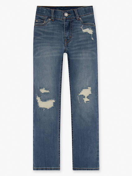 Little Boys 4-7x 511 Slim Destructed Jeans