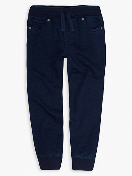 Little Boys 4-7x Indigo Jogger
