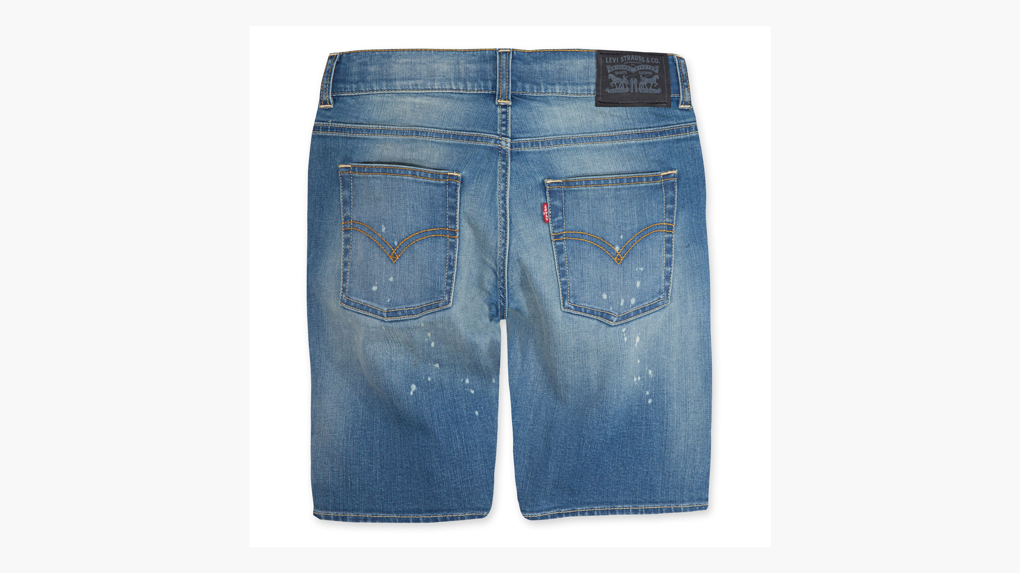 a6865090 Big Boys 8-20 511™ Slim Fit Performance Shorts - Light Wash | Levi's® US
