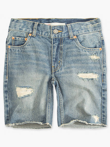 Little Boys 4-7x 511™ Destroyed Cut Off Shorts