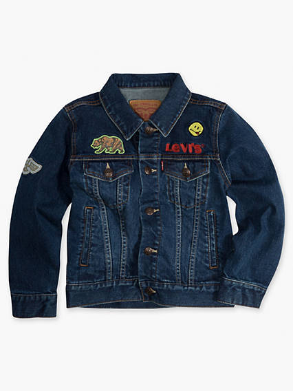 Little Boys 4-7x Trucker Jacket