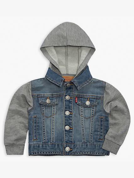 Baby 0-12M Indigo Trucker Jacket