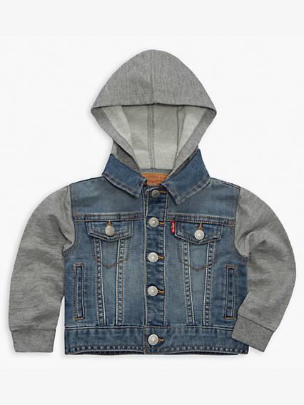 Baby 12-24M Indigo Trucker Jacket