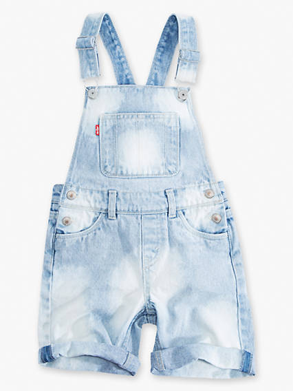 Toddler Girls 2T-4T Summer Love Shortall