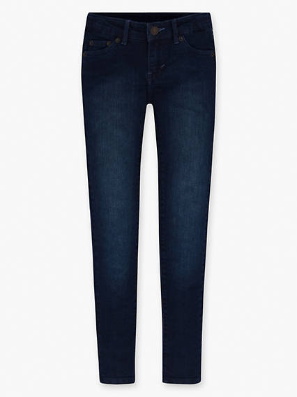 Girls 7-16 710 Super Skinny Jeans (Plus)