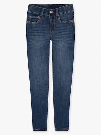 Little Girls 4-6x 710 Super Skinny Back Pocket Jeans
