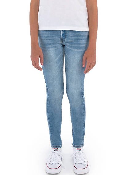 Girls 7-16 710 Super Skinny Color Jeans