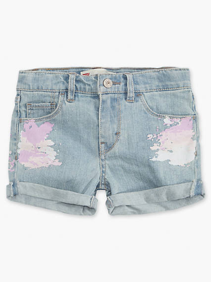 Toddler Girls 2T-4T Summer Love Shorty Shorts