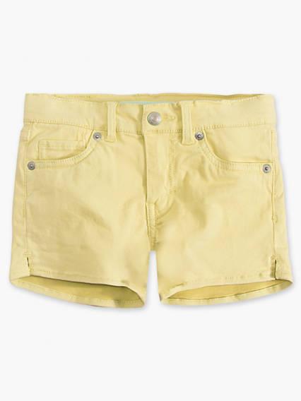 Toddler Girls 2T-4T Jet Set Shorty Shorts
