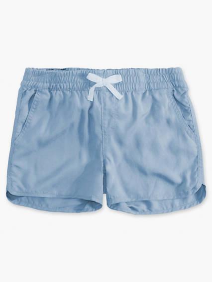 Little Girls 4-6x Lightweight Shorty Shorts