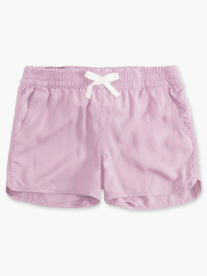 Girls 7-16 Lightweight Shorty Shorts