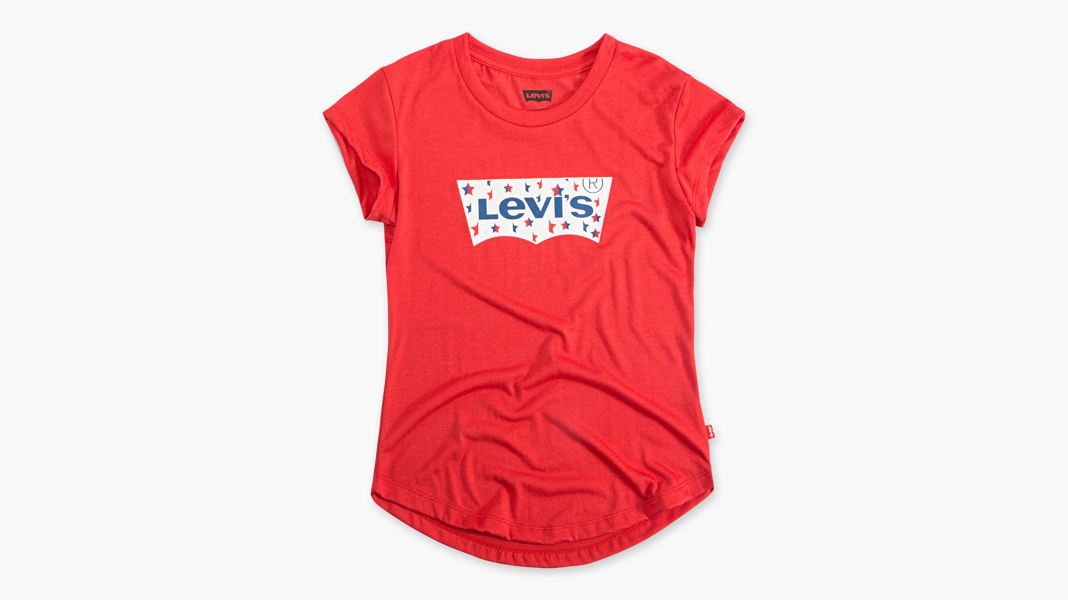 1052e4e17 Little Girls 4-6x Graphic Tee Shirt - Red | Levi's® US