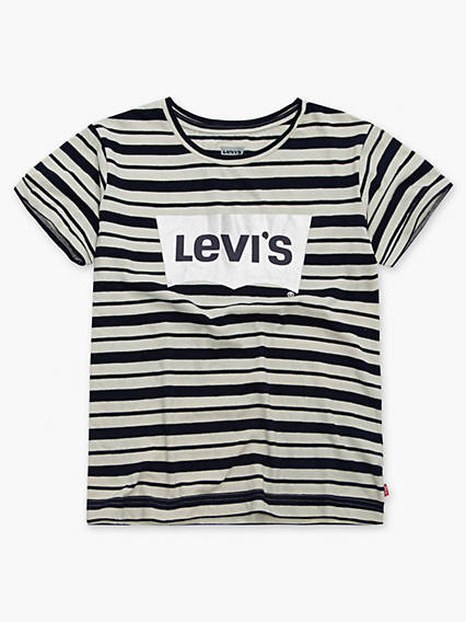 Toddler Girls 2T-4T Levi's® Indigo Boxy Tee