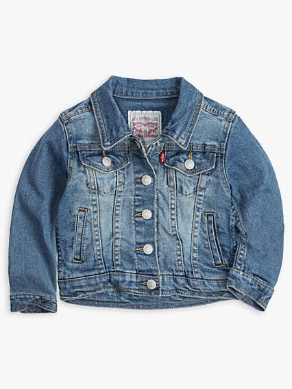 Toddler Girls 2T-4T Denim Trucker Jacket