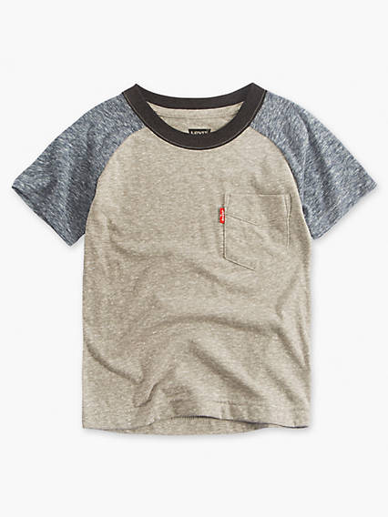 Toddler Boys 2T-4T Levi's® Raglan Pocket Tee