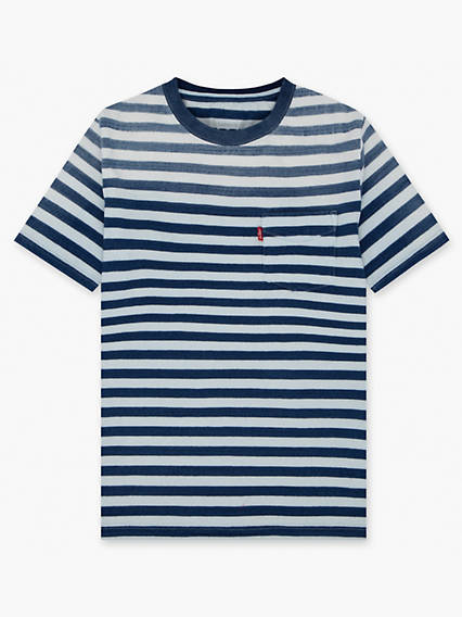 Boys 8-20 Indigo Sunset Pocket Tee