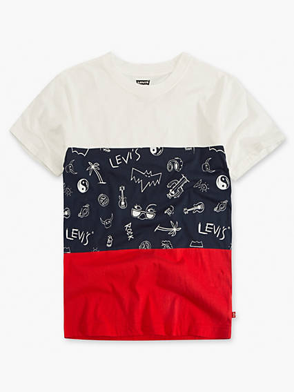 Boys 8-20 Levi's® Colorblocked Tee