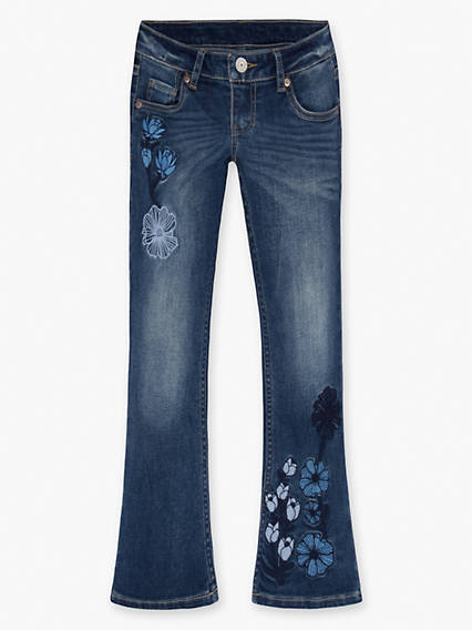 Girls 7-16 Crop Boot Cut Jeans