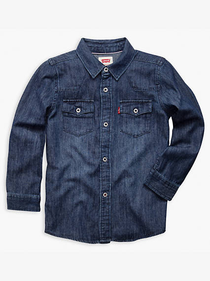 Little Boys 4-7x Barstow Western Shirt