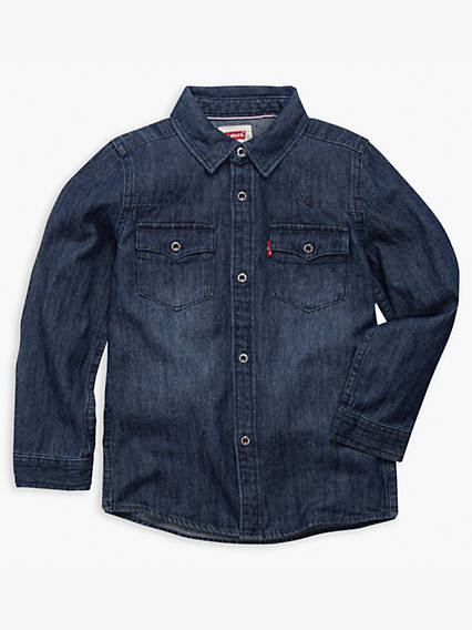 Toddler Boys 2T-4T Barstow Western Shirt