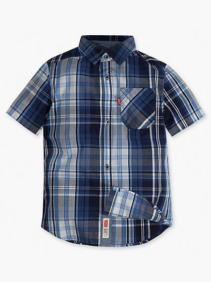 Toddler Boys 2T-4T Smith Short Sleeve Shirt