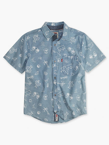 Little Boys 4-7x Smith Short Sleeve Shirt