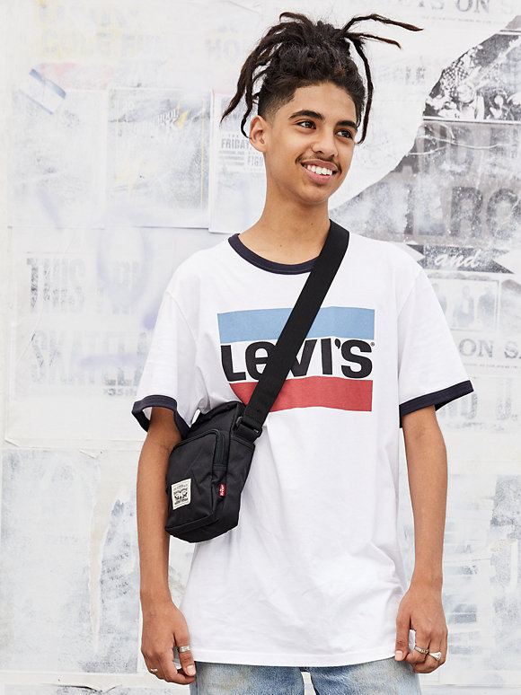 A Boy in Levi Tees