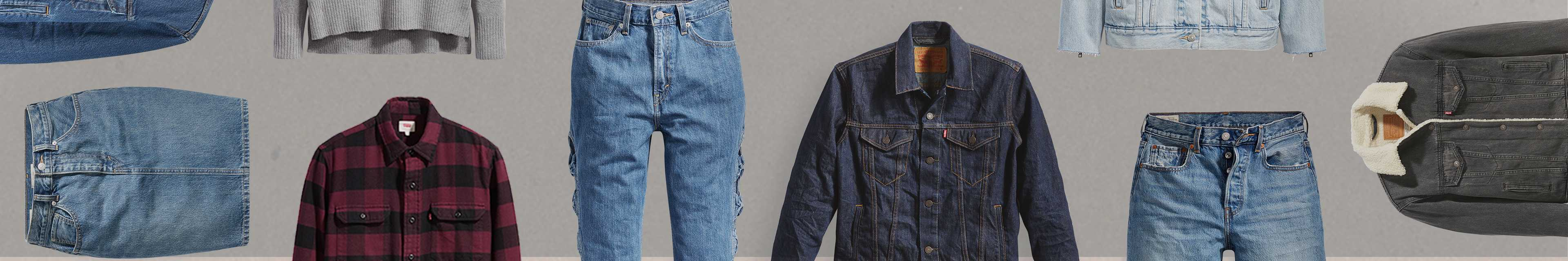 Jeans, Denim Jackets & Clothing | Levi\'s® Official Site