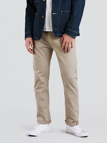 513MC Pantalon 5 poches droit étroit