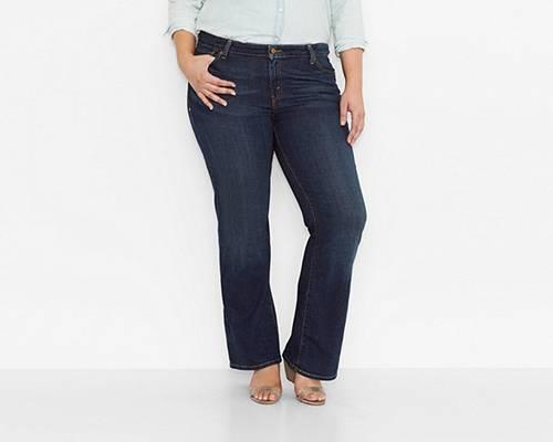 Levis 590 Fuller Waist Boot Cut Jeans