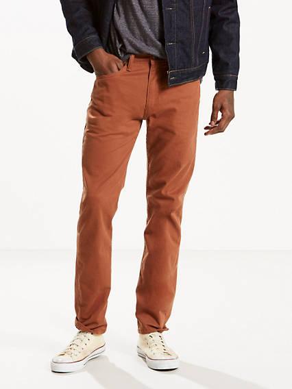 502™  Regular Taper Fit Stretch Twill 5-Pocket Pant