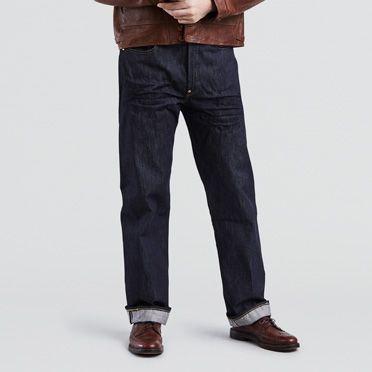 1930s Mens Fashion Guide- What Did Men Wear? 1933 501® Jeans $260.00 AT vintagedancer.com