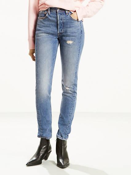 501® Jean filiforme retouché