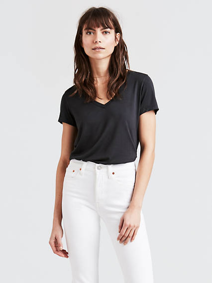 T-shirt à col en V parfait