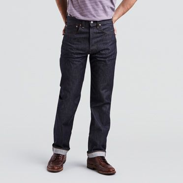 Men's Vintage Style Pants, Trousers, Jeans, Overalls 1947 501® Jeans $260.00 AT vintagedancer.com