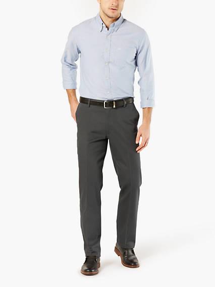 Signature Stretch Khaki, Straight Fit