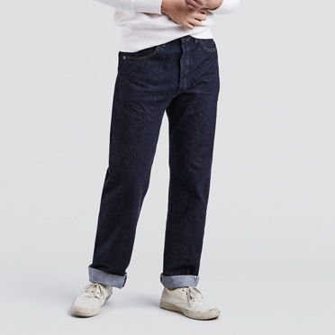 Men's Vintage Style Pants, Trousers, Jeans, Overalls 1955 501® Jeans $260.00 AT vintagedancer.com